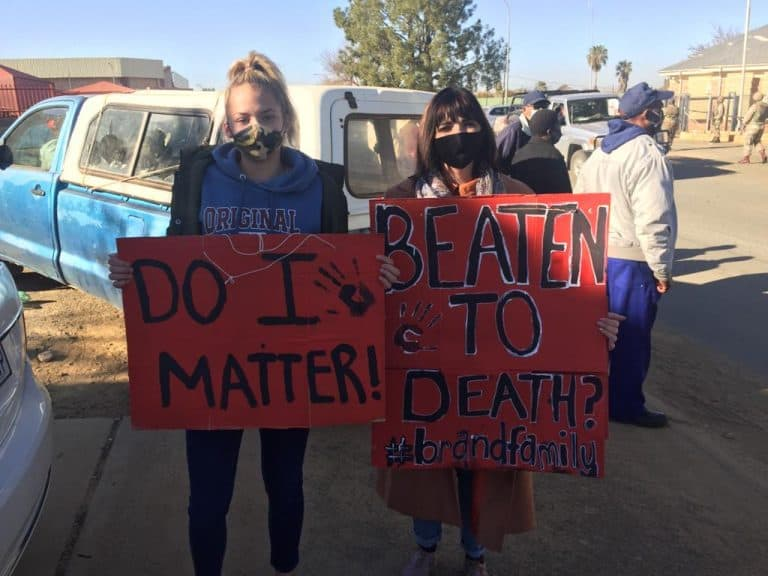 Hartswater farm murders: AfriForum together with hundreds of community members at murder suspects' first appearance