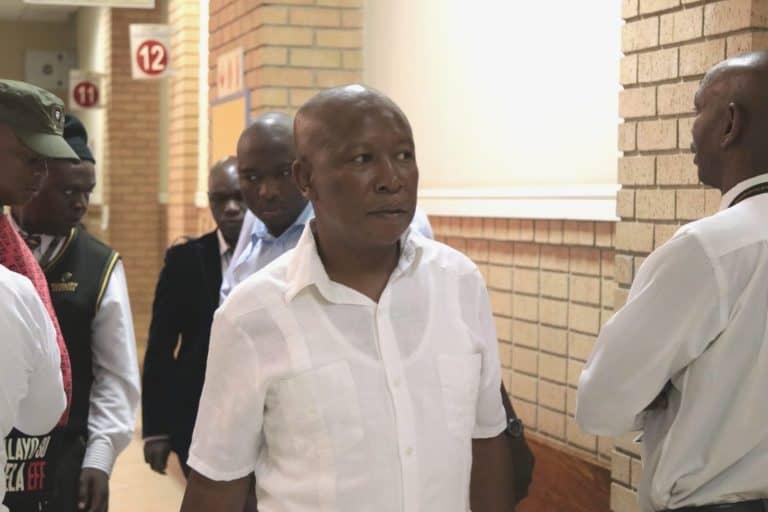 Malema en Ndlozi se aanrandingsaak begin in Oktober