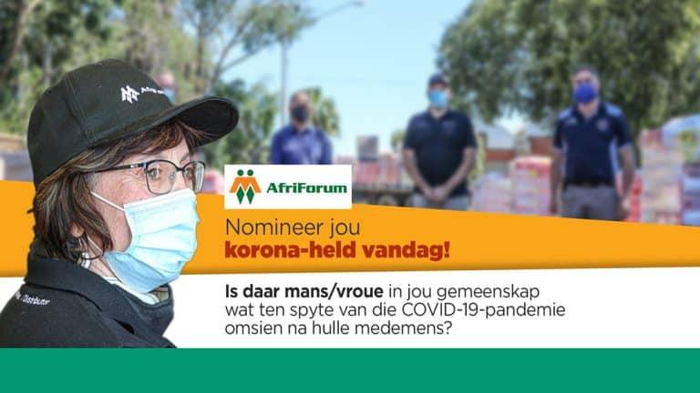 AfriForum se gemeenskaptoekenningsinisiatief