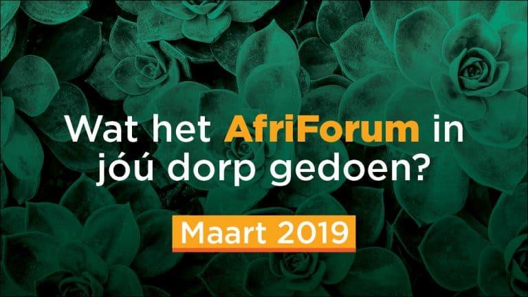 AfriForum-suksesse: Maart 2019