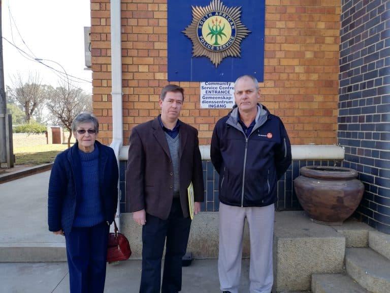 Springs-gemeenskap staan saam in nood en teen misdaad en munisipale bestuurder