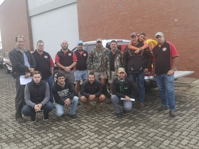 AfriForum se Tzaneen-buurtwag ontvang opleiding en brandbestrydingstoerusting