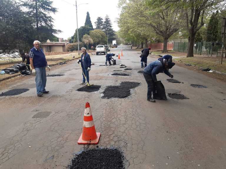 Bethal's streets are being repaired