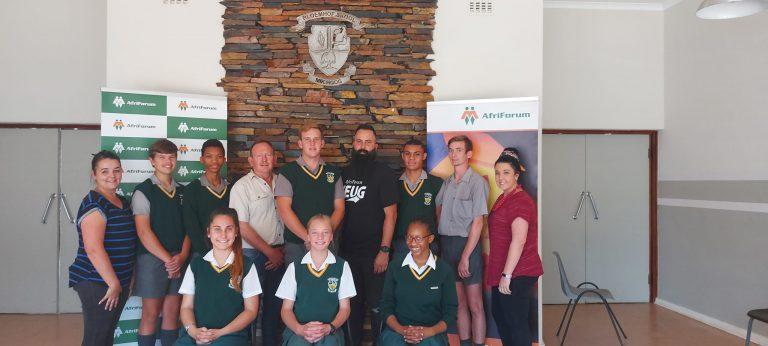 AfriForum besoek Bloemhof Gekombineerde Skool as deel van teenboelie-en- selfdoodbewusmakingsveldtog