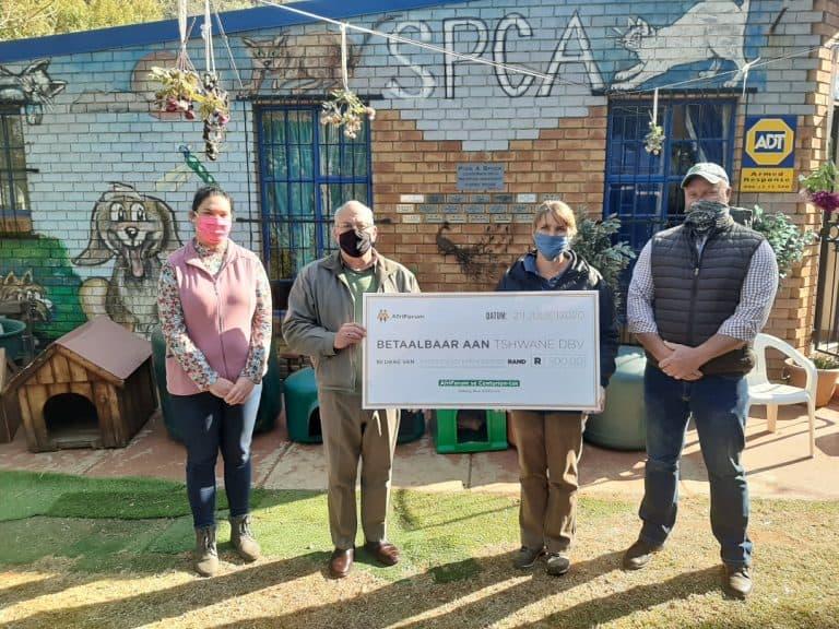 AfriForum se Centurion-tak skenk geld aan plaaslike DBV
