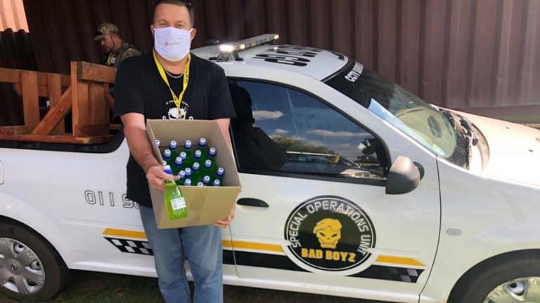 AfriForum's Benoni branch donates hand sanitiser and face masks