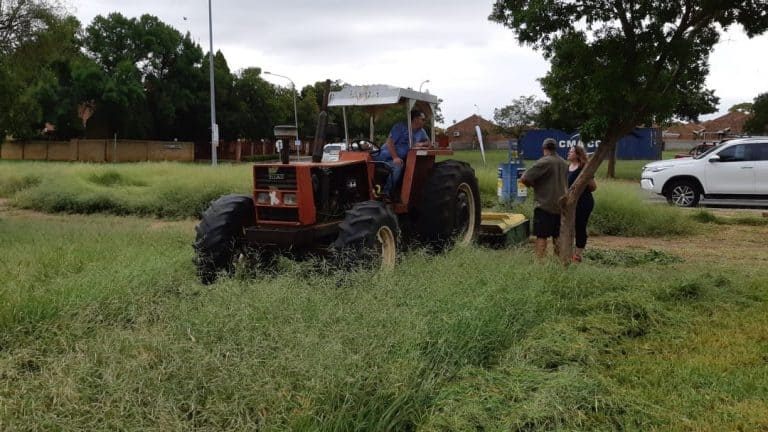 AfriForum se Potchefstroom-tak en -buurtwag maak park mooi, skoon en veilig