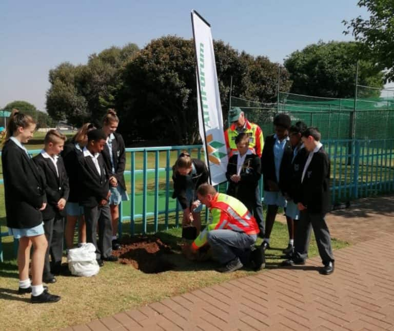 AfriForum's Edenvale branch contributes to a greener future