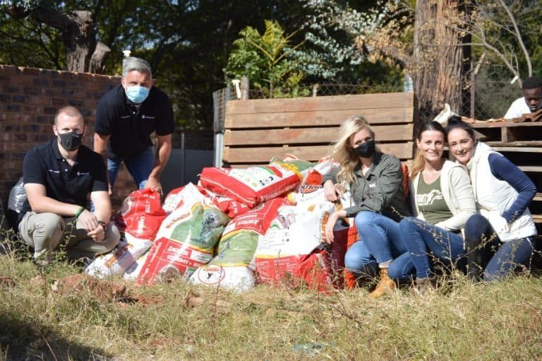 COVID-19 task team supports destitute children and animal shelters