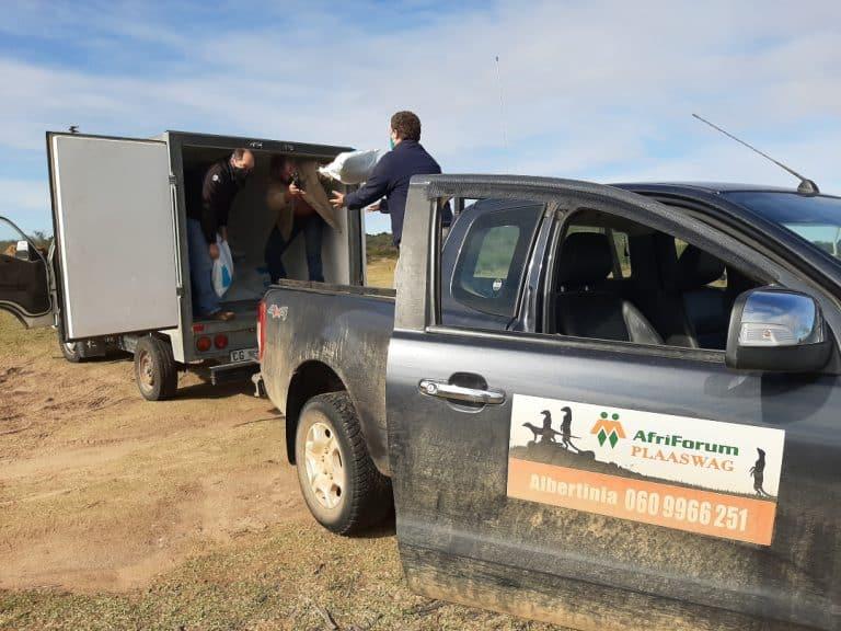 AfriForum versprei nog voedsel in die Suid-Kaap