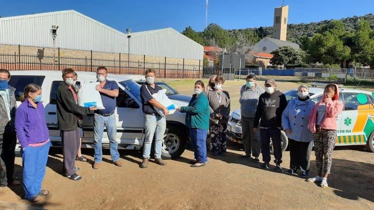 AfriForum se Bloemfontein-takke help gemeenskappe tydens COVID-19-pandemie