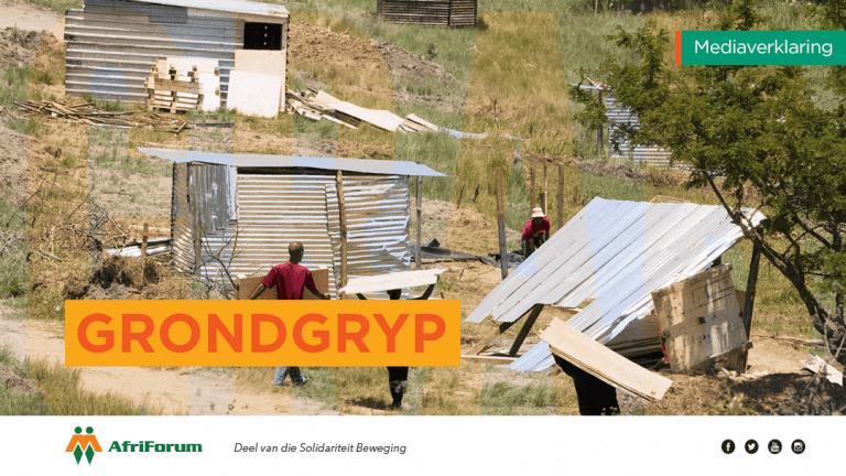 AfriForum en gemeenskap laat grondgrypers op hul neuse kyk