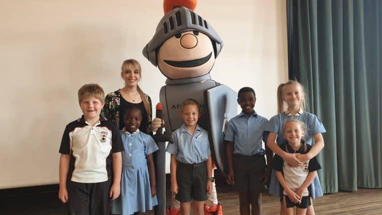 AfriForum-teenboelieveldtog en Matteus besoek Laerskool Pretoria-Oos
