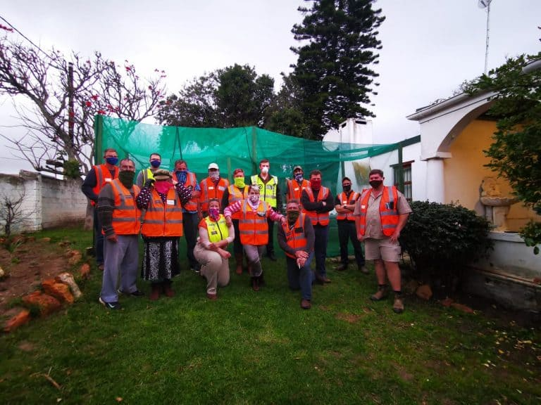AfriForum's Hessequa branch takes part in the mass patrol