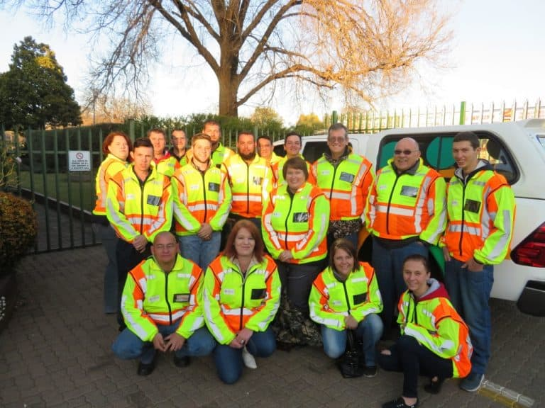 AfriForum se Secunda-buurtwag help om dorp te beveilig