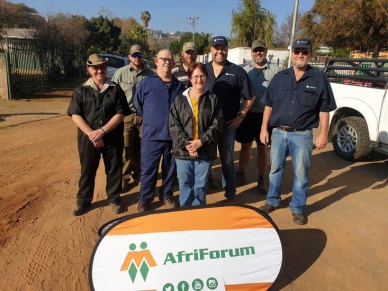 AfriForum se Moot-tak skerp veiligheid op