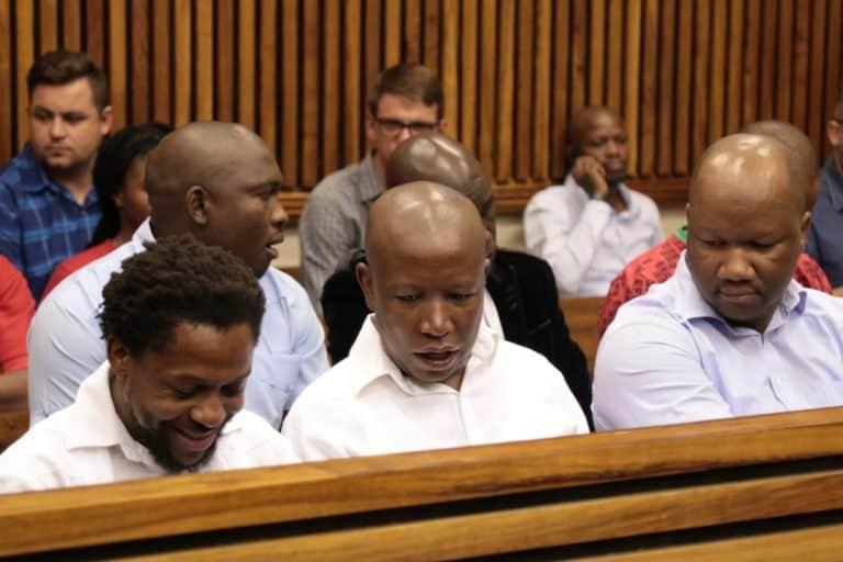 Malema en Ndlozi se aanrandingsaak uitgestel tot Augustus