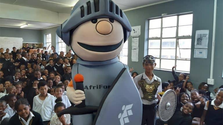 AfriForum-teenboelieveldtog en Matteus besoek laerskole in Port Elizabeth