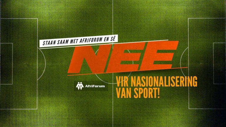 Nasionalisering van sport