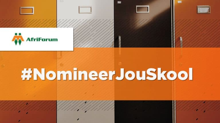 #NomineerJouSkool