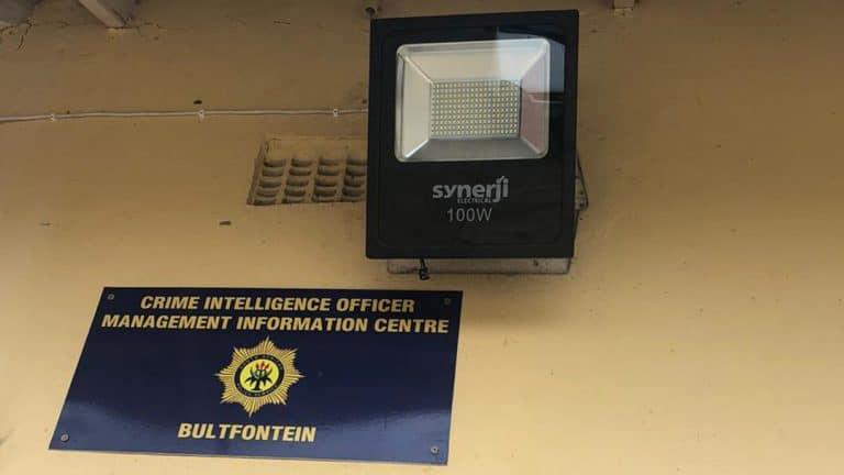 #OnsDorp-veldtog: AfriForum-tak in Bultfontein verskerp veiligheid by polisiestasie
