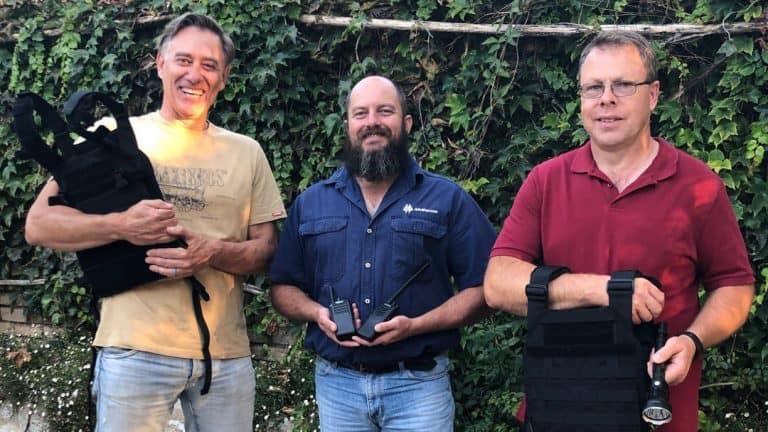AfriForum se Geelhoutboom-plaaswag ontvang opleiding in toneelhantering