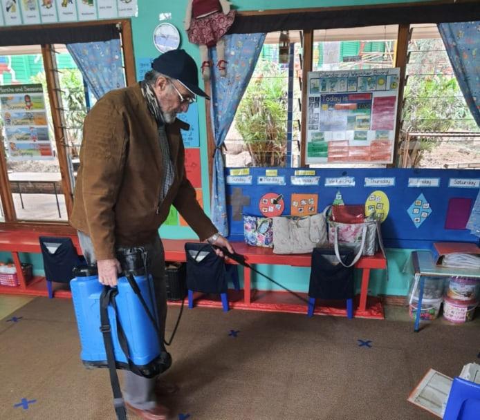 AfriForum se Witrivier-tak ontsmet kleuterskool