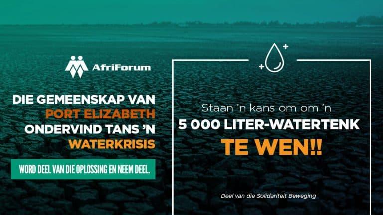 Port Elizabeth waterkrisis