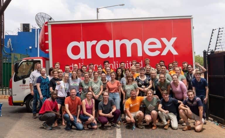 AfriForum en Aramex verleen hulp tydens Boks vir 'n Boervrou-projek