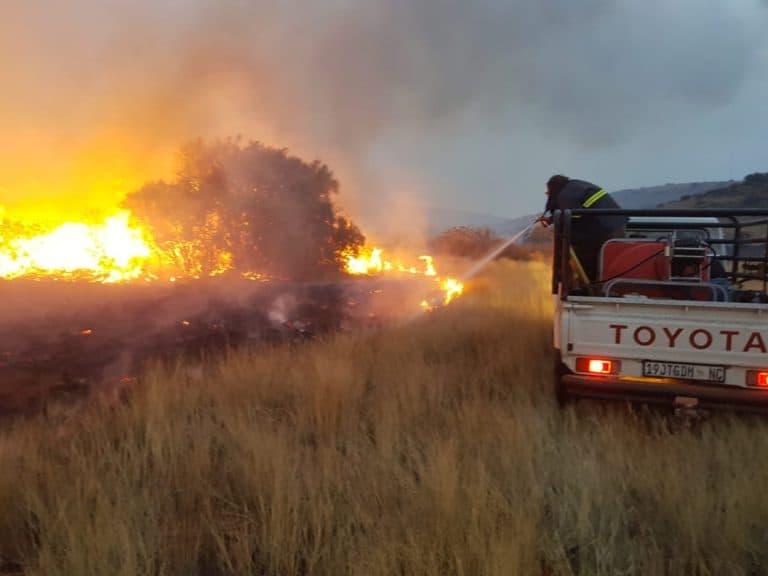 AfriForum se Kuruman-buurtwag ontvang brandbestrydingsopleiding