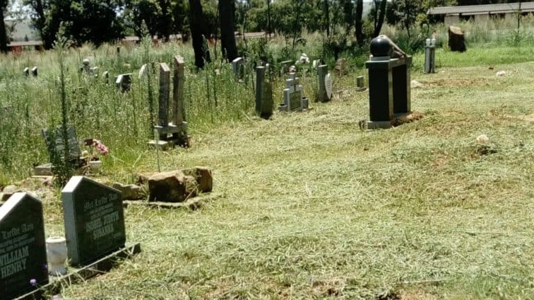 #OnsDorp-veldtog: AfriForum se Frankfort-tak knap begraafplaas op