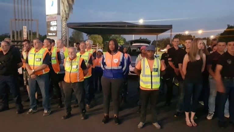 AfriForum se Gauteng-Suid-buurtwagte neem aan nasionale patrollie deel