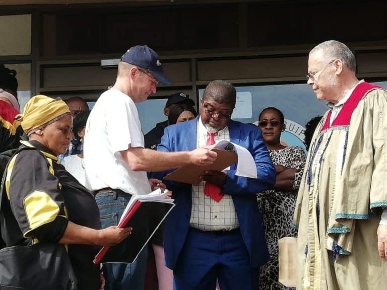 AfriForum se Upington-tak ontvang terugvoer van munisipaliteit ná oorhandiging van memorandum