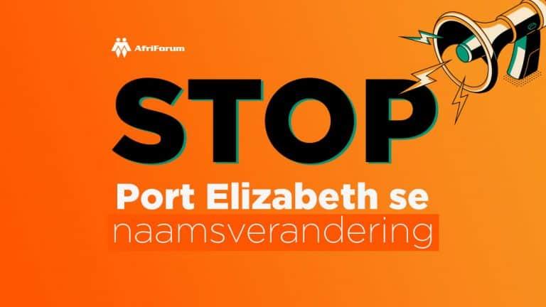 STOP Port Elizabeth se naamsverandering