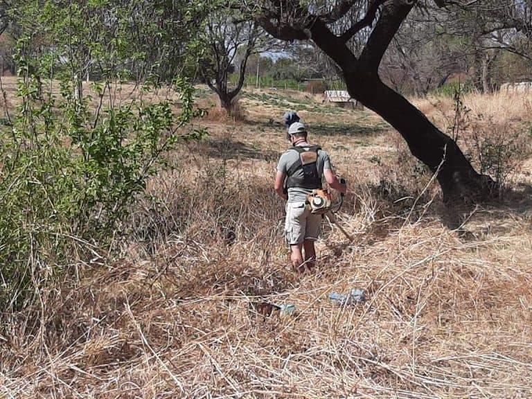 AfriForum se Centurion-tak gaan voort met skoonmaak van park