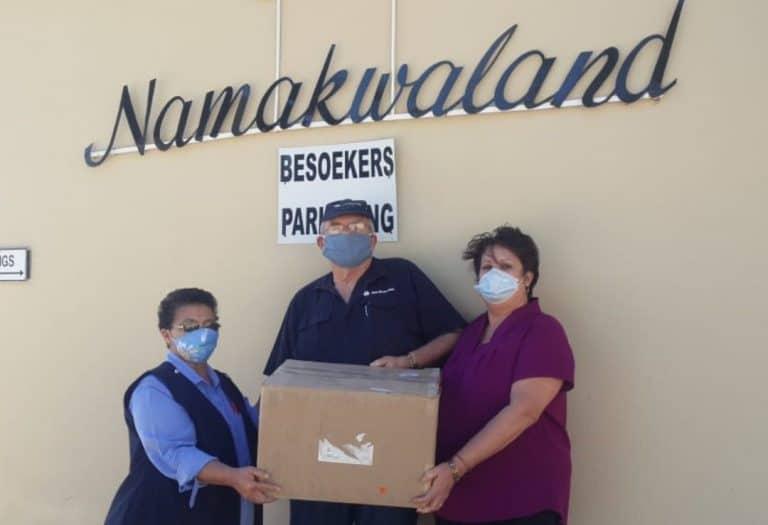 AfriForum se Springbok-tak help gemeenskap tydens COVID-19-pandemie