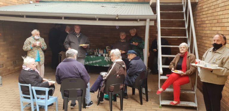 AfriForum's Springs branch spoils the elderly with breakfast