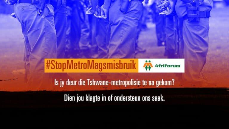 #StopMetroMagsmisbruik