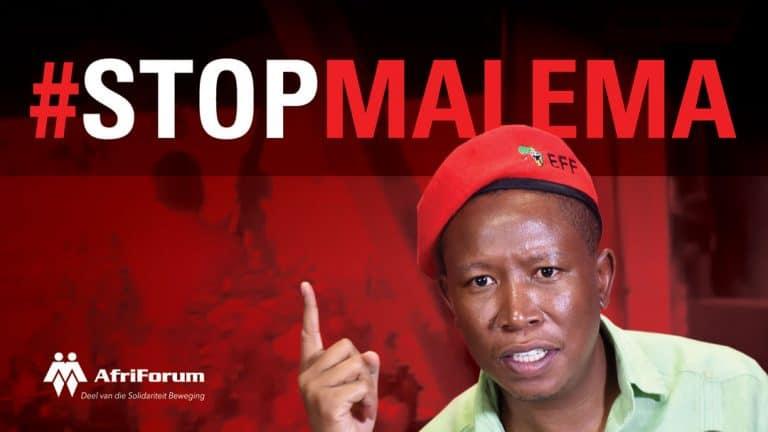 #StopMalema