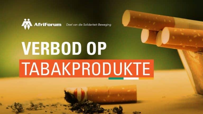 Verbod op tabakprodukte