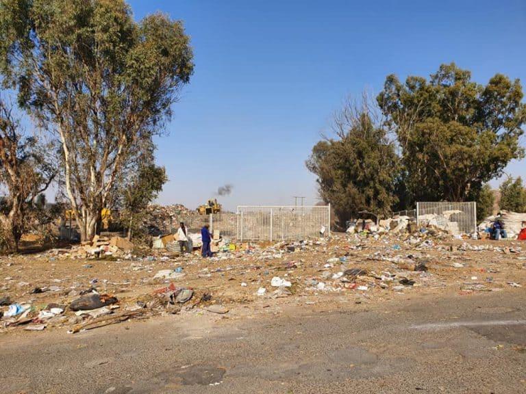 AfriForum rig skrywe aan Dihlabeng-munisipaliteit oor toestand van vullisterrein