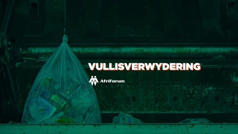 AfriForum stel vullisverwyderingsdiens in Bloemfontein bekend