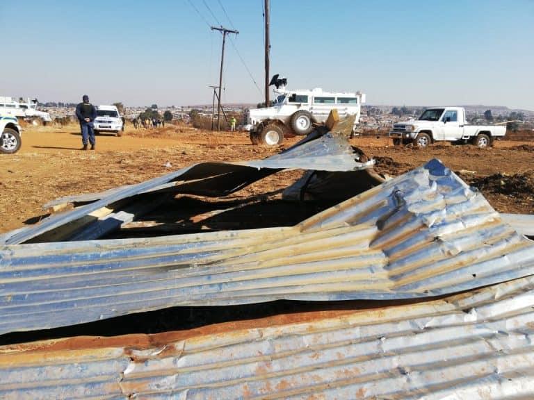 Video: Elandsfontein-grondgrypers vandag danksy AfriForum verwyder