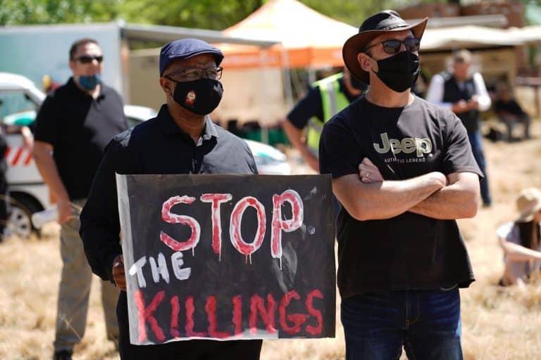 AfriForum hou vreedsame protesaksie in Senekal