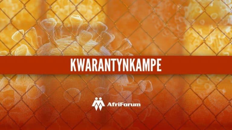 KZN-Premier trek dreigement van kwarantynkampe terug ná AfriForum met regsaksie dreig