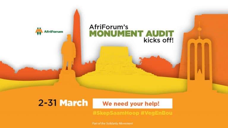 AfriForum monument audit 2020