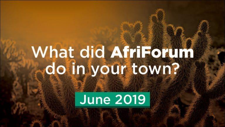 Afriforum- Success: June 2019