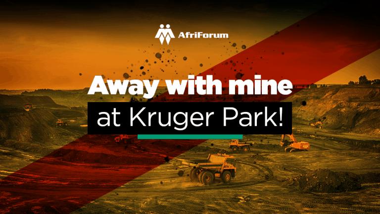 Away with mine at Kruger Park!