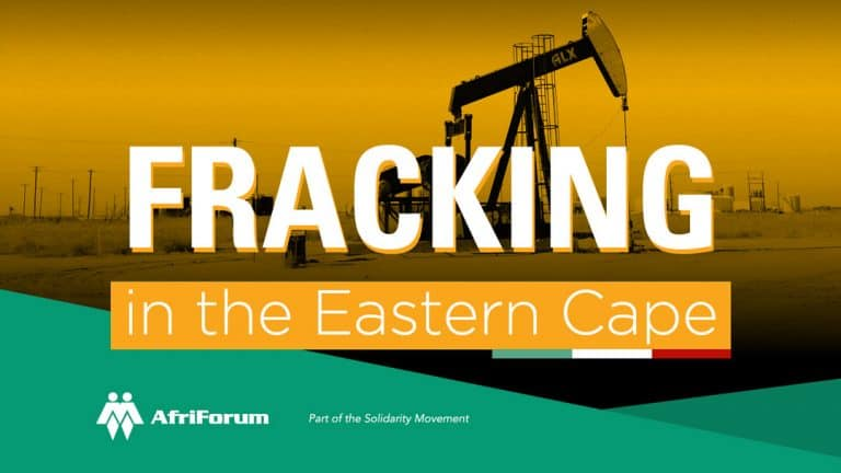 Fracking in the Eastern Cape