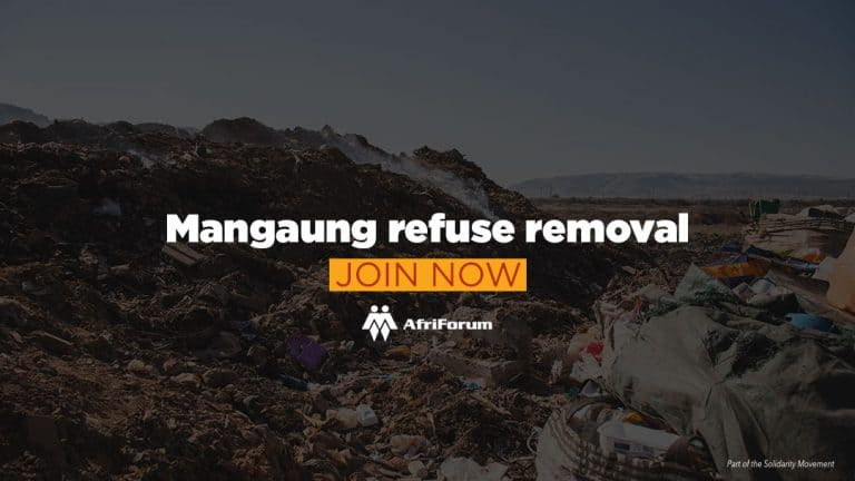 Mangaung refuse removal